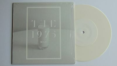 """The 1975 - MILK 7"""" White Vinyl Record  NEW & SEALED  :Dirty Hit DH00160"""