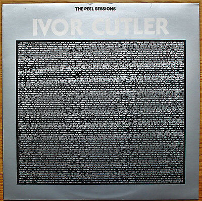 "IVOR CUTLER The Peel Sessions UK 12"" EP Strange Fruit SFPS068 NM/EX+1989"