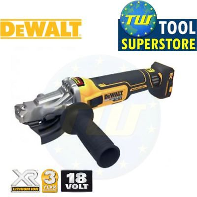DeWalt DCG405NF 18V 5in BRUSHLESS 125mm Flat Head Angle Grinder Li-ion Body Only