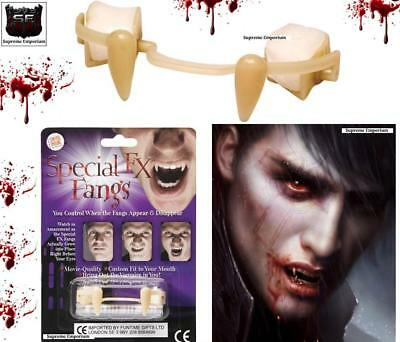 FX Fangs Special Retractable Vampire Teeth Halloween Fancy Dress Accessory Set
