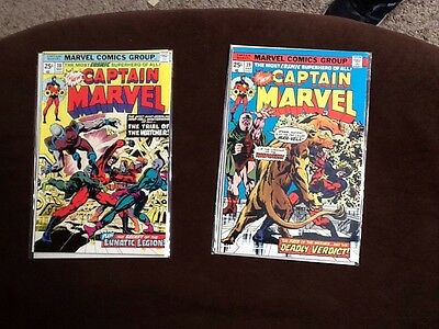 Captain Marvel Lot Of 2- No. 38 & 39 - VF+/NM