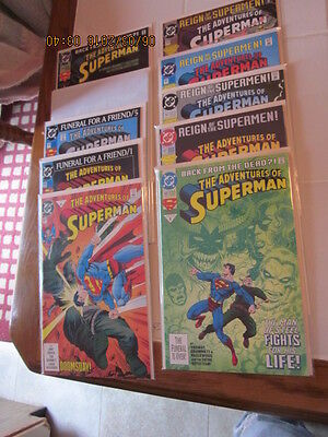 Lot of 88 DC Comics Book The Adventure of Superman 12/92-6/2000 # 497-575 VF/NM