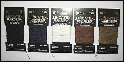 Strong Linen Sewing Repair Mending Thread Leather Upholstery – 10 Metres