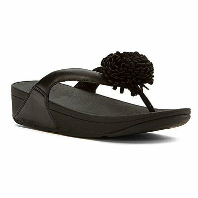 e9a122678 FitFlopTM B51-001 FitFlop Womens Flowerball Toe Post Sandal- Choose  SZ Color.