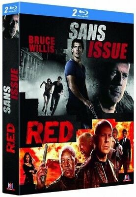 Sans issue + Red COFFRET BLU-RAY NEUF SOUS BLISTER