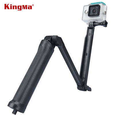 Selfie Stick Monopod Handle Grip Adjustable For GoPro 5 4 Xiaomi Polaroid Camera