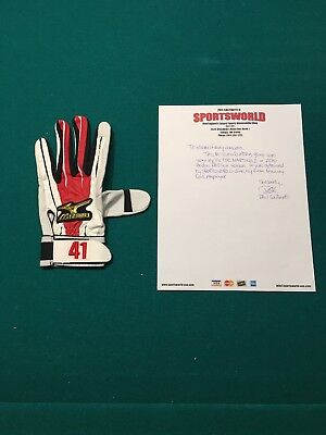 Victor Martinez Red Sox Game Used Batting Glove With LOA