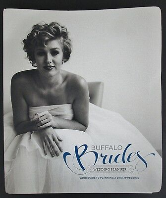 Wedding Planner Buffalo Brides NY Spiral Bound NEW Local Service Providers Tips