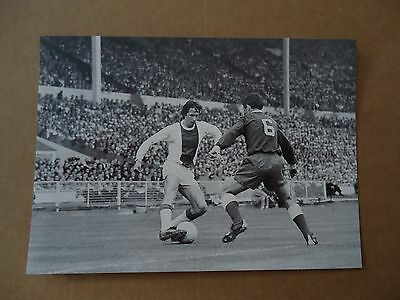 Photo Cruyff Afc Ajax Amsterdam Panathinaikos 1971