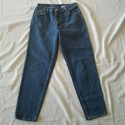 Women's Vintage Levi's 550 Denim Blue Jeans ~ Sz 12 ~ Relaxed Fit ~ Tapered Leg