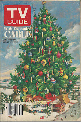 1982 TV GUIDE Dec 25-31 Holiday Issue