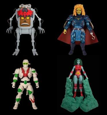 4er SET Collector Choice 2.0 WAVE 2 MOTU CLASSICS Masters of the Universe SUPER7