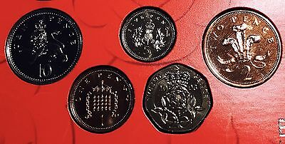 2003 Royal Mint 5 Coin Set From 1p-20p BUNC
