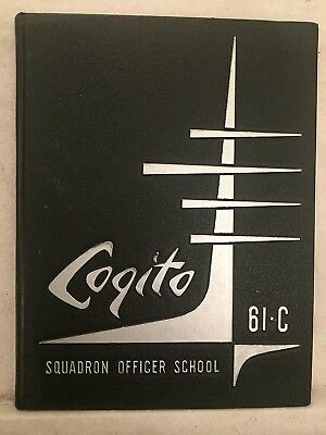 1961 Maxwell Air Force Base Squadron Officer Training Yearbook Alabama AL + Phot