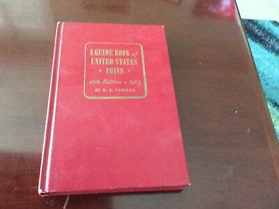 A Guide Book of United States Coins 16th Edition by R.S. Yeoman Red Book Used