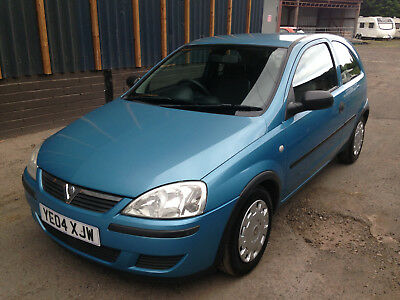 2004 Vauxhall Corsa 1.0 TwinPort Blue - NEW MOT - LOW MILEAGE - NEW TIMING CHAIN