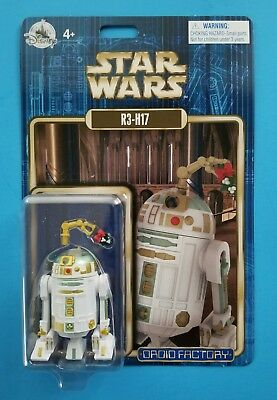 Star Wars 2017 Disney Droid Factory R3-H17 Holiday Edition Astromech SOLD OUT!!