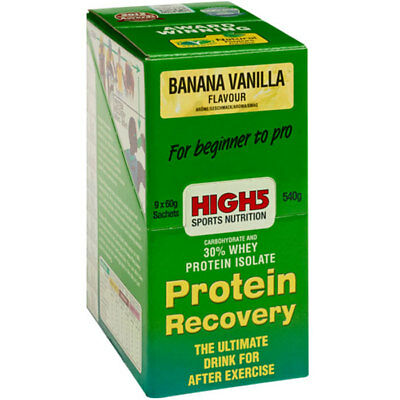 High 5 Protein Recovery Banana