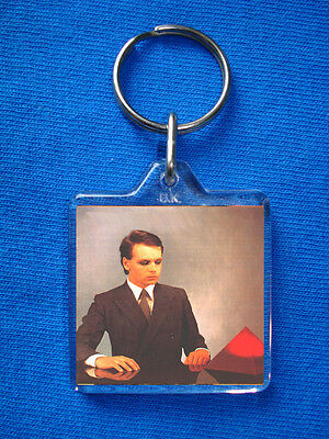 Gary Numan -The Pleasure Principal Keyring Tubeway Army Bowie