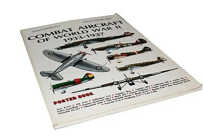 Combat Aircraft of World War II 1933-1937 Poster Book