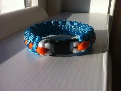 Gulf Racing Team Paracord Bracelet