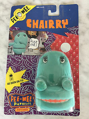 1988 PEE WEE Playhouse CHAIRRY Matchbox (NEW)