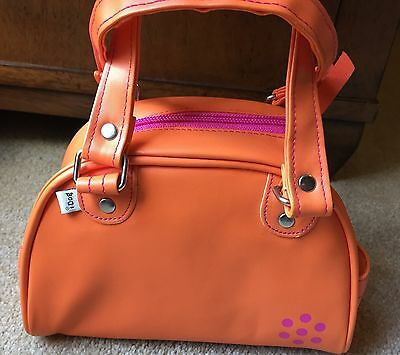 i Dog iDog Orange Pink Carrying Case Tote Excellent Condition