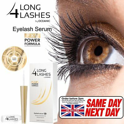NEW! Long 4 Lashes POWER FORMULA Eyelash GROWTH Enhnacing Serum 3ml