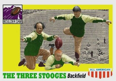 The Three Stooges Aceo Art Card ##free Combined Shipping##