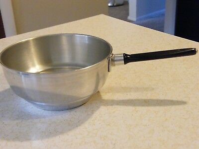 "Vtg West Bend Aluminum Electric Replacement Corn Popper Pan 7.5"" wide"