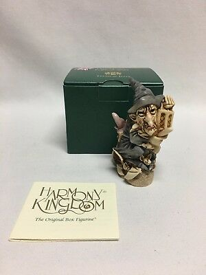 Harmony Kingdom Witching Time TJEV02FW Mint w/ Box