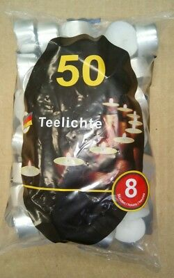 T-lights 8hr long burning tealights Case of 600 Excellent quality & value