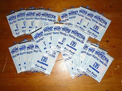 25 sealed~unopened packs 7-11 MONSTER IN MY POCKET trading cards (25 x 3)