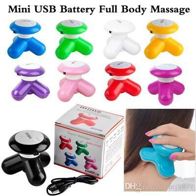 New Easy Mini Handheld Deep Muscle Vibrating Full Body Massager Muscle Relax 817