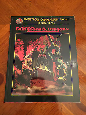 AD&D - 2nd Edition - Monstrous Compendium - Volume 3 - TSR