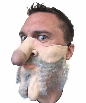 Dick Penis Head Mask Funny Halloween Creepy Scary Costume Party Decoration