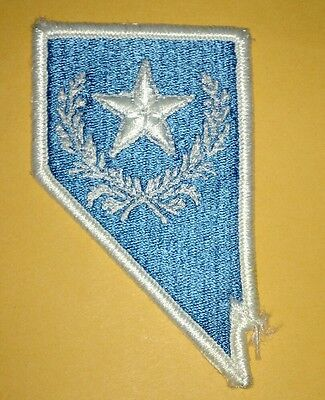 Nevada National Guard Embroidered Uniform Patch.