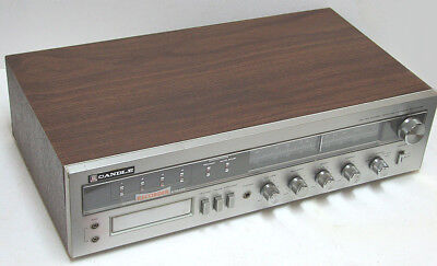 vintage CANDLE 8150 8-Track Player / Recorder / AM, FM Stereo Receiver Perfect