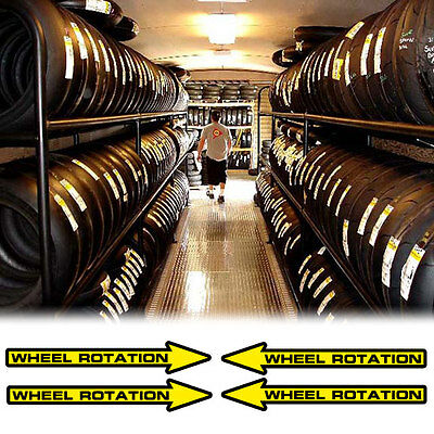 tire direction decals sticker for trackbike sportbike