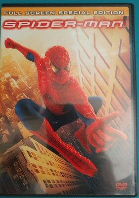 SPIDER-MAN Full Screen Special Edition 2-Disc DVD Like New