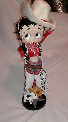 betty boop collectible figurine 17 inches tall