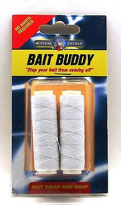 Bait Buddy Stops your bait coming off Bait Mate elastic thread keeps bait on