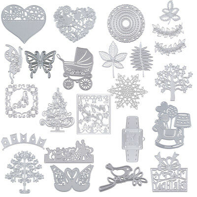 Metal Cutting Dies Stencil for DIY Scrapbook Embossing Paper Cards Decor Crafts