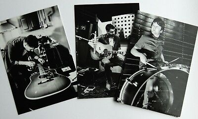 THE COURTEENERS LIAM FRAY    SET of 8 BLACK & WHITE ART CARDS
