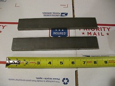 "(2)pc. 3/8"" X 1 1/4"" X 8"" Cold Rolled Steel Bar Stock 1018/1020"