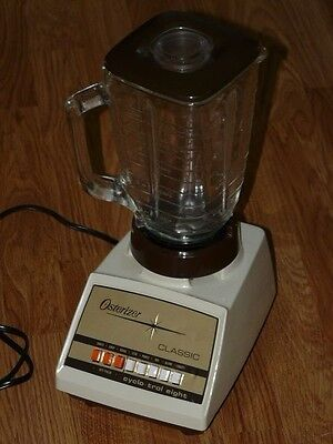 Vintage OSTERIZER CLASSIC Cyclo-Trol Eight Blender with Glass Jar