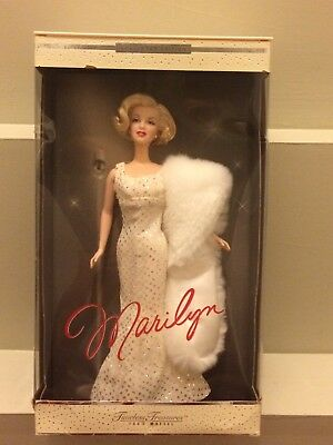 Marilyn Monroe Barbie Doll Timeless Treasures Collector Edition 2001 Mattel