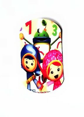 Umizoomi- 8 Paper Dog Gift tags- Party Favor Loot Toys Prizes tag
