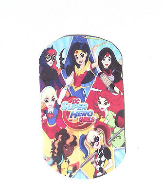 Hero Girls- 8 Paper Dog tags- Party Favor Loot Christmas Toys Prizes tag
