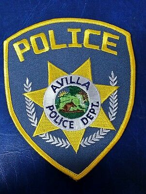 Avilla, Indiana Police Shoulder Patch In